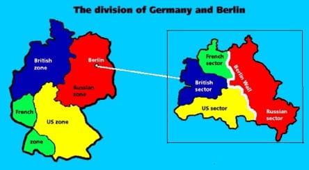 My Trip Along The Berlin Wall Stock Investor - Berlin map east west