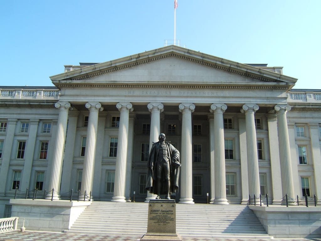 [U.S. Treasury Building]
