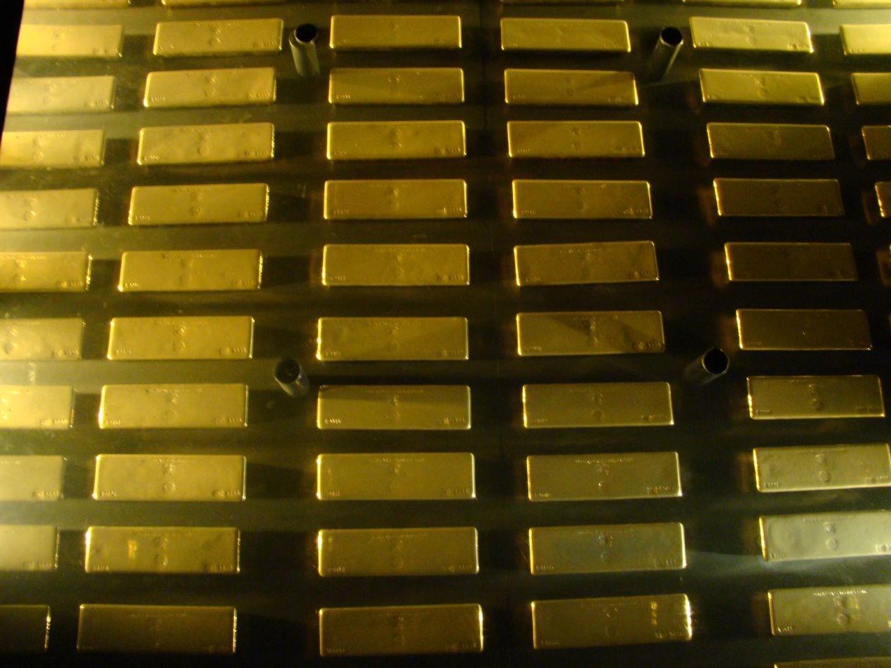 [Gold bars]