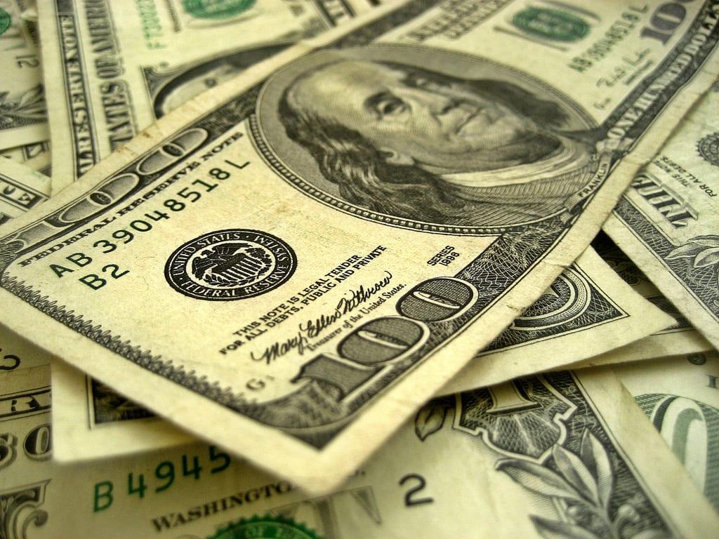 [dollar bills]