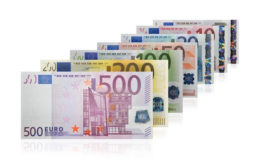 [Euro bills]