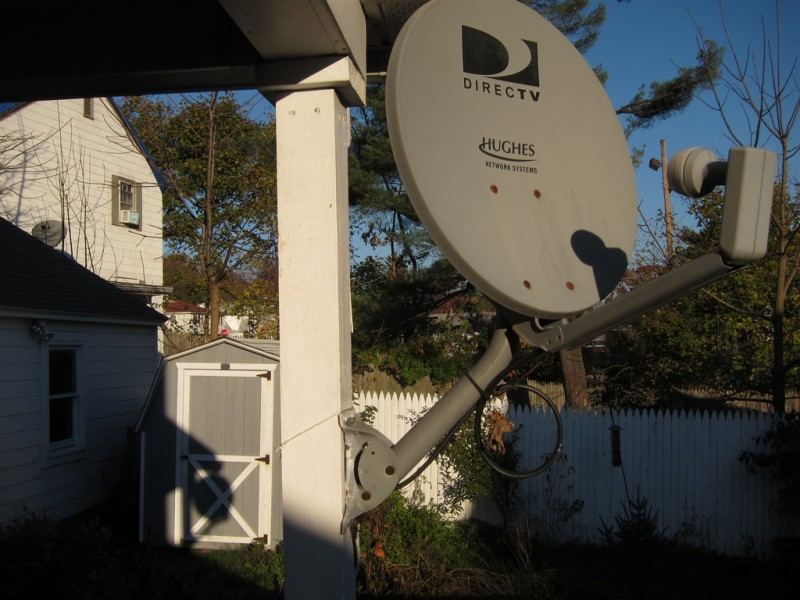 [DirecTV satellite]