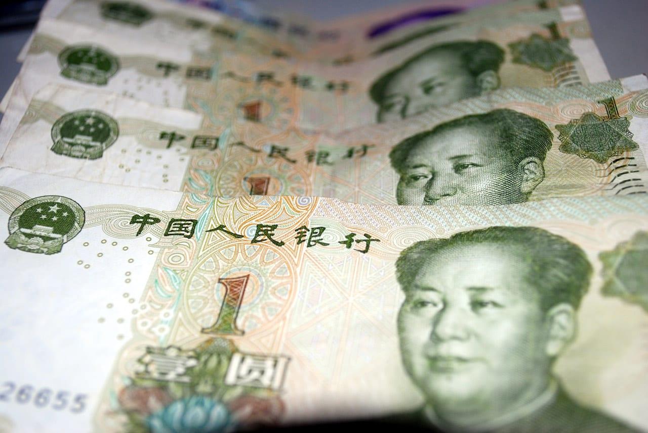 [renminbi bills]