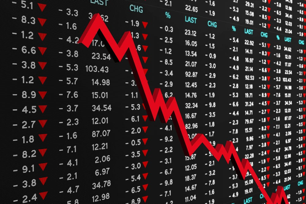 Image result for photos of today's stock market crash