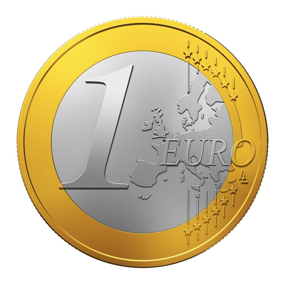 1€ coin